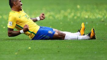 Barcelona l-a vandut pe Paulinho in timpul Mondialului! Catalanii au confirmat accidental mutarea pe o retea de socializare