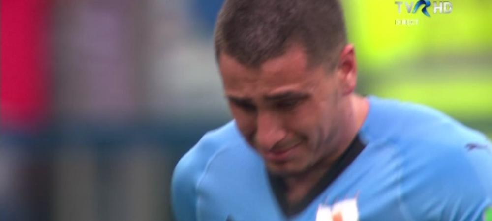 Scene emotionante in timpul meciului cu Franta! Gimenez a inceput sa planga pe teren