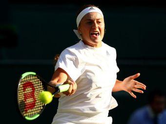 """SCANDAL la Wimbledon din cauza echipamentului lui Ostapenko: """"Nu este competitia in care sa te imbraci asa!"""""""
