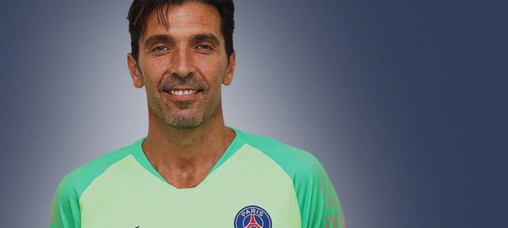 """OFICIAL! Paris Saint-Germain a anuntat transferul lui Gianluigi Buffon! Clipul GENIAL cu care l-a prezentat: """"E prima data cand plec din tara mea!"""""""