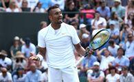 """Kyrgios a lovit din nou la Wimbledon! A atacat pe net comentatorul ultimului meci: """"Cine esti tu sa vorbesti asa despre mine?"""""""