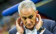 """Selectionerul Braziliei, DEVASTAT dupa ce Belgia i-a eliminat de la Mondial: """"Mi-e greu sa vorbesc.."""" Cine a facut diferenta"""