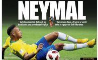 """""""Putin fotbal si mult teatru!"""" Neymar, pus la zid pentru prestatia de la Cupa Mondiala! Ce scrie presa"""