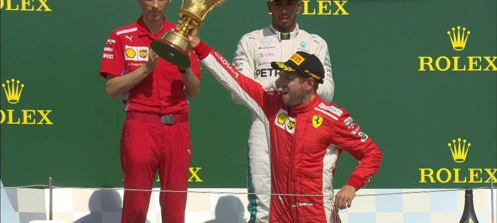 Vettel castiga la Silverstone! Cum arata acum clasamentul pilotilor dupa 10 etape in F1