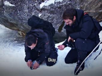 Wimbledon 2018. Roger Federer, lectii de supravietuire in Alpii elvetieni alaturi de Bear Grylls. VIDEO