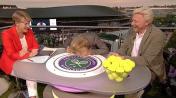 "Wimbledon 2018. Navratilova s-a dat cu CAPUL de masa cand a auzit-o pe Halep: ""Bla, bla, bla! SERIOS!?"" VIDEO"