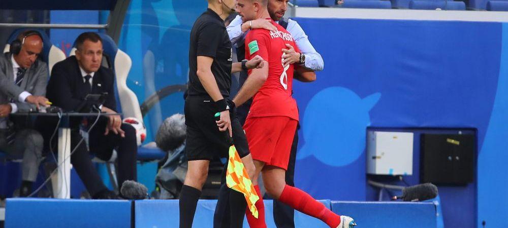 Croatia - Anglia, Cupa Mondiala 2018   Probleme de lot pentru Southgate! Un titular s-a accidentat si e incert pentru semifinale