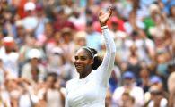 Wimbledon 2018. Serena Williams ramane in cursa pentru trofeu! Victorie fara emotii cu Rodina