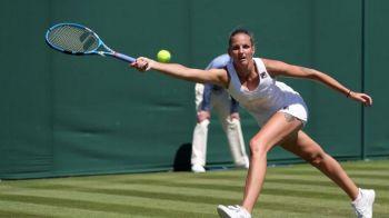 Doar o jucatoare din top 10 mondial mai e la Wimbledon! Reactia Pliskovei dupa ce a fost eliminata