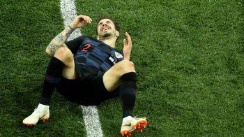 CROATIA - ANGLIA, CUPA MONDIALA 2018 | Lovitura pentru croati: un titular s-a rupt si nu va juca impotriva Angliei. Si portarul Subasic are probleme