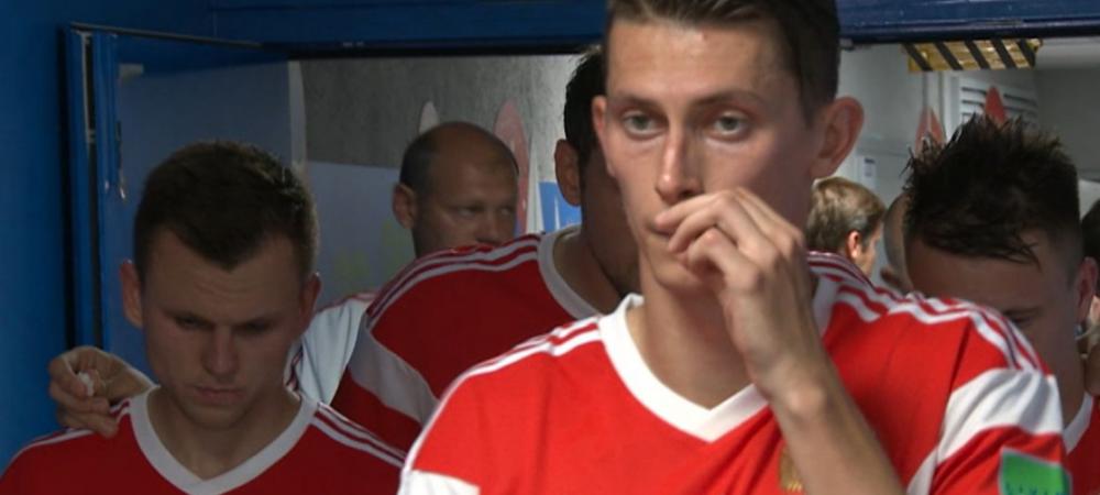 """Medicul Rusiei a recunoscut ca le-a dat jucatorilor sa """"traga pe nas"""". Ce substanta i-a pus sa inspire la pauza meciului contra Croatiei: """"Nu e doping"""""""