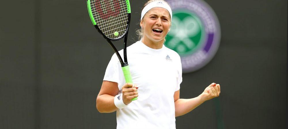 Wimbledon 2018. Se stie prima semifinala feminina! Cu cine se bate Ostapenko pentru marea finala