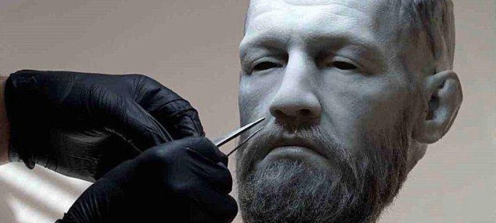 """""""E ca un ZEU!"""" Cadou incredibil pentru McGregor in ziua in care implineste 30 de ani! Sculputura de peste 55.000 de euro care a fost creata in 5 luni"""