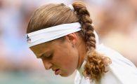 """CRIZA de nervi pentru Ostapenko la Wimbledon: """"M-am lovit singura!"""" Ce iesire a avut letona"""