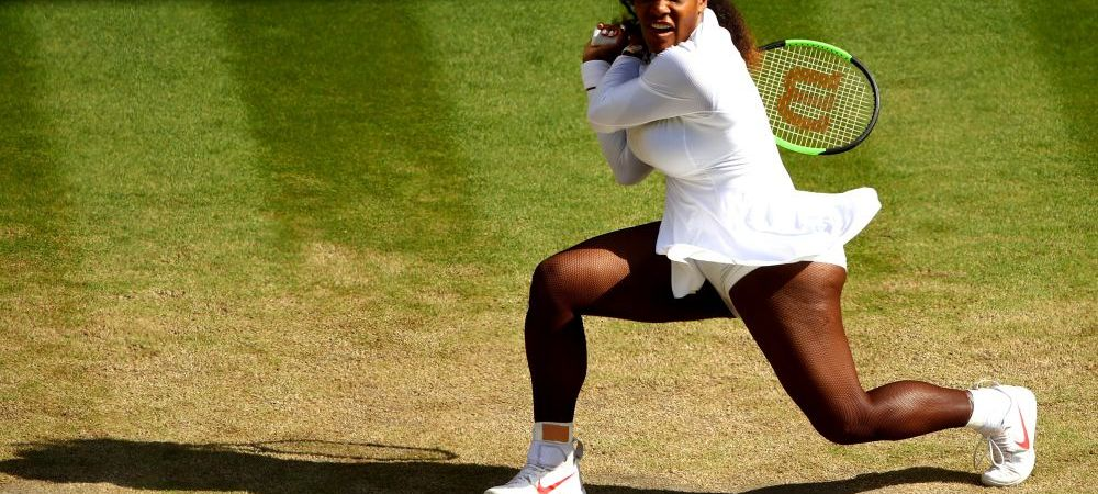 Serena Williams s-a calificat cu emotii in semifinala la Wimbledon! Peste cine da in penultimul act