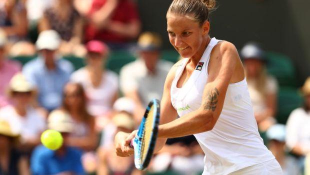 """Iesire nervoasa a Pliskovei la Wimbledon: """"M-am saturat!"""" Ce a scos-o din minti pe sportiva din Cehia"""