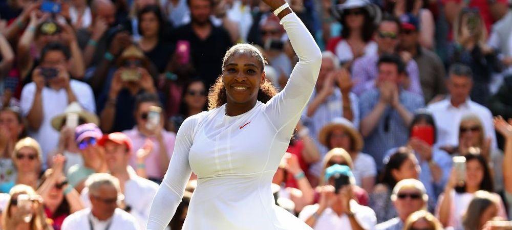 """Reactia Serenei Williams dupa calificarea in semifinale la Wimbledon: """"M-am intors si mai am mult de munca"""""""
