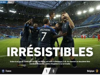 """IREZISTIBILII!"" Francezii exulta dupa a 3-a finala de Cupa Mondiala in 20 de ani! Reactiile din presa internationala dupa semifinala cu Belgia"