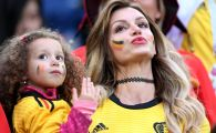 FOTO | Romanca ce a atras toate privirile la Franta - Belgia! Cum a ajuns tanara din Brasov cea mai sexy fana a Belgiei la Mondial