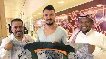 FOTO: Budescu a ajuns in Arabia Saudita! Prima imagine de la Al Shabab. Ce salariu URIAS va incasa