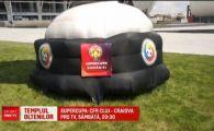 A mai venit un trofeu la olteni! Craiova se lauda cu un gazon impecabil la Supercupa!