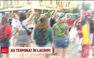 Drama Belgiei, inecata in RAURI de bere la Bucuresti! Cum au trait fanii semifinala cu Franta