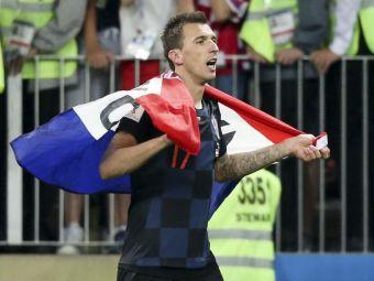 """""""Am fost ca leii! Nu e un miracol, am meritat"""" Mandzukic, EROUL Croatiei la Cupa Mondiala! Cum a reactionat"""