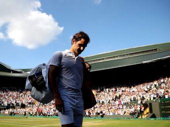 """Roger Federer, """"REGELE IERBII"""" Cine sunt cei 11 jucatori care l-au detronat la Wimbledon si cate participari a bifat elvetianul la Slam-ul englezilor"""