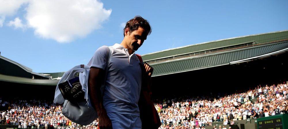"""Federer, OUT de la Wimbledon 2018. """"Sunt dezamagit"""" Cum comenteaza infrangerea cu Anderson din sferturi"""