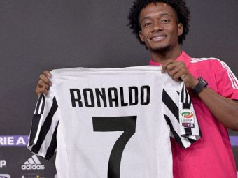 Reactia FANTASTICA a lui Cuadrado cand a aflat ca trebuie sa-i cedeze numarul lui Ronaldo! Ce mesaj a transmis