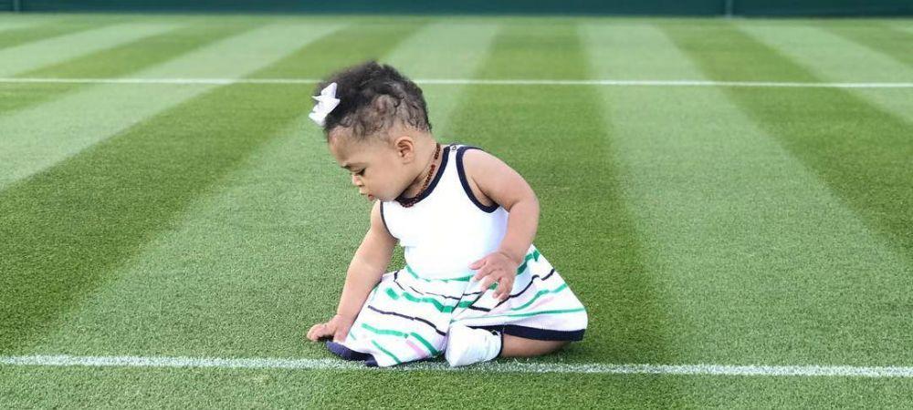 """Serena i-a facut deja cont de Instagram fiicei sale: """"Nu vreau sa joace tenis!"""" Cine s-a oferit s-o antreneze deja"""