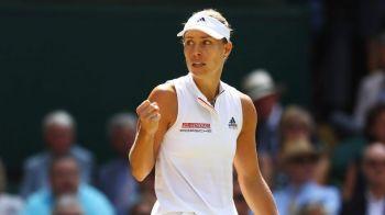 Angelique Kerber, prima finalista la Wimbledon 2018! A invins-o in doua seturi pe Jelena Ostapenko