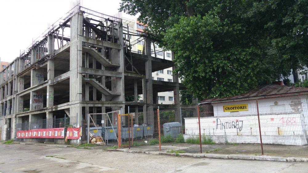 In ce hal a ajuns baza Dinamo! Mizerie, ruine, inscriptii naziste si rasiste