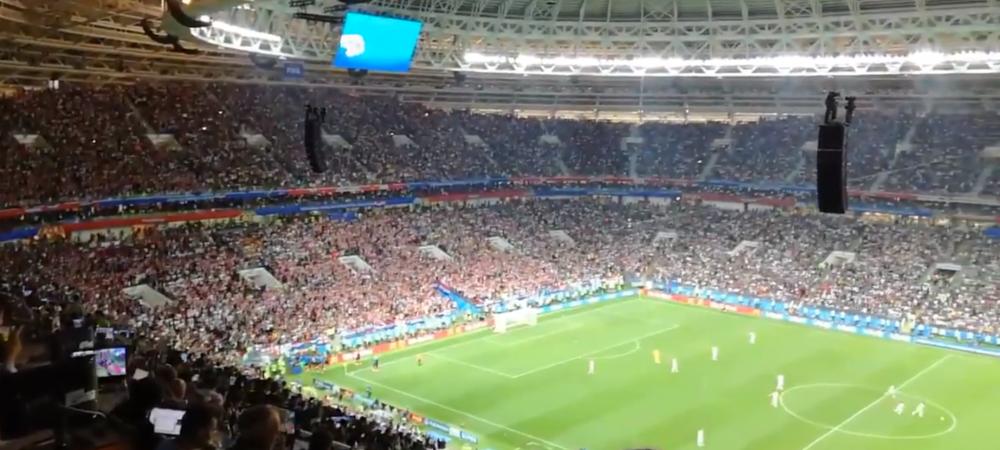 FAZA FABULOASA care nu s-a vazut la TV! Ce au facut englezii dupa al doilea gol al croatilor: Au pandit si au actionat | VIDEO