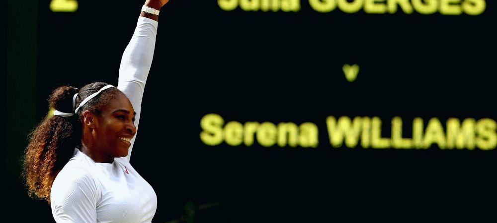 SALT URIAS al Serenei Williams! Ce-i aduce americancei calificarea in finala de la Wimbledon