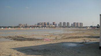 Finala Mondialului din 2022 se va juca intr-un oras care NU EXISTA INCA! Fabulos: qatarezii construiesc un oras special pentru Mondial. FOTO