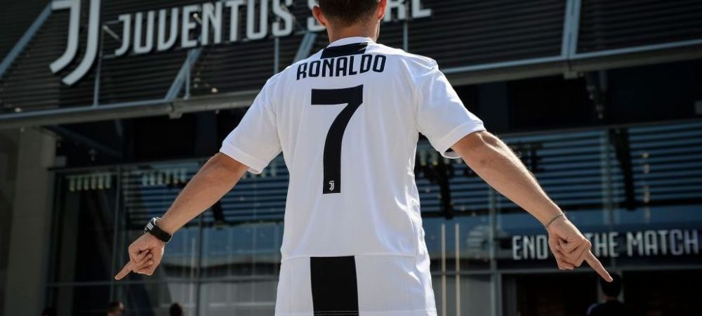 Uluitor! Cati bani a scos Juventus din tricouri in primele 24 de ore de la transferul lui Cristiano Ronaldo