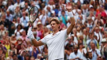 A FOST PREA FRUMOS! Meci incredibil la Wimbledon: Kevin Anderson s-a calificat in marea finala dupa un meci de 6 ore cu Isner, terminat 26-24 in decisiv