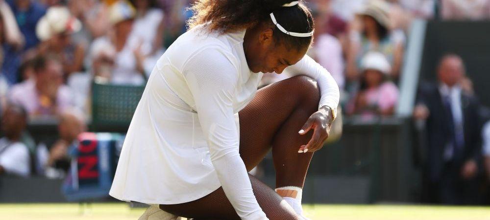 Serena Williams - Angelique Kerber 3-6 3-6 | La 36 de ani, americanca rateaza sansa de a o egala pe Margaret Court! Kerber, la al treilea GS