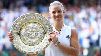 Schimbari majore in topul WTA dupa Wimbledon. Simona Halep e singura care a stat linistita; campioana Kerber a urcat 6 locuri, Muguruza a cazut 4