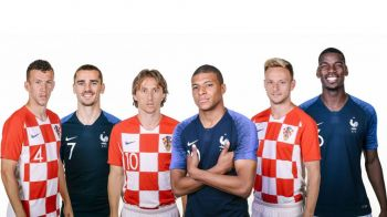 FRANTA - CROATIA LIVE, CUPA MONDIALA 2018, ora 18:00 | Intreaga lume numara orele pana la marea finala! Tot ce trebuie sa stii despre meciul anului