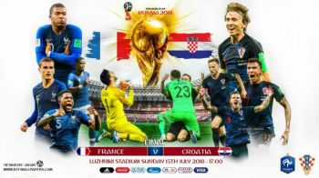 #PreviewMondial. Ion Alexandru iti spune tot ce trebuie sa stii inaintea finalei mondiale Franta - Croatia
