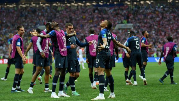 FRANTA - CROATIA 4-2 FINALA CUPEI MONDIALE 2018   Franta, noua campioana mondiala! Croatia nu a putut produce marea surpriza