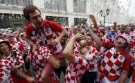 LIVE: 100.000 de croati vad finala in centrul capitalei Zagreb! Transmisiune in direct aici