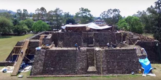 Descoperire uluitoare intr-o piramida din Mexic! Ce-a iesit la lumina in urma unui cutremur devastator
