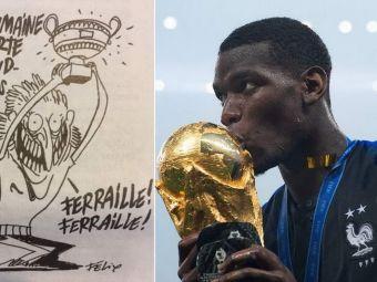 RAZBUNAREA ROMANILOR:  Fiare vechi!  Caricatura aparuta dupa victoria Frantei de la Mondial. FOTO