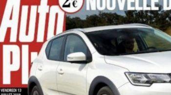 Prima imagine cu noua Dacia Sandero! Schimbare radicala pregatita pentru 2019! Cum va arata