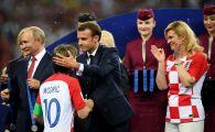 Cum a fost surprins Emmanuel Macron! A mers in vestiarul Croatiei dupa finala Mondialului | IMAGINEA ZILEI