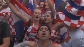 Invinsi, nu DOBORATI! Croatii au dat petrecere pe strazi chiar daca au pierdut finala Cupei Mondiale! VIDEO FANTASTIC