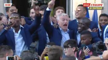 VIDEO // Francezii s-au distrat pe seama lui Messi! Paul Pogba a dat tonul cantecului cu care i-a cucerit pe suporteri